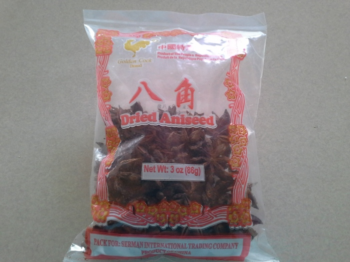Dried Aniseed or 八角