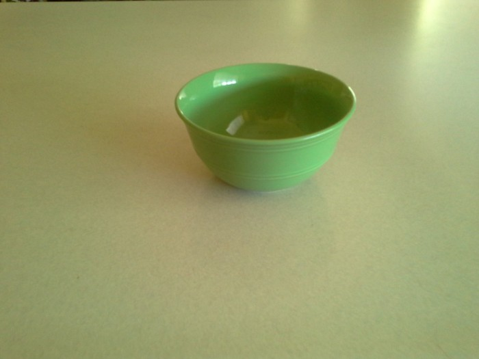 A new set of bowls, equal thickness.
