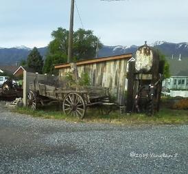 A broken wagon