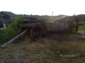 Another broken wagon