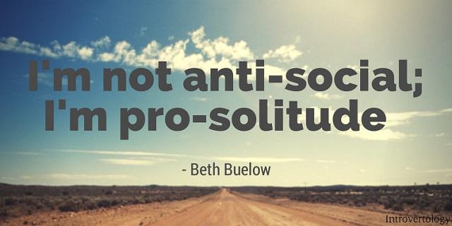 Not-anti-social