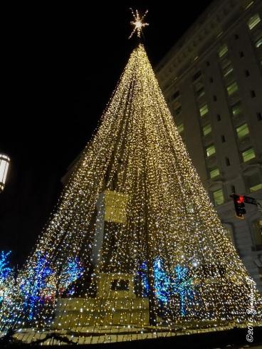 A unique Christmas tree
