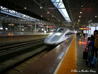 Riding China's bullet train