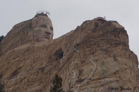 Crazy Horse in progress