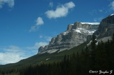 Along Icefield Parkway in Canada