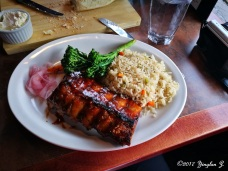 Half-rack of ribs in Banff