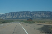 Going home from Dinosaur National Monument in Vernal
