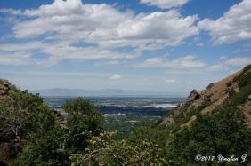 Overlooking Ogden City