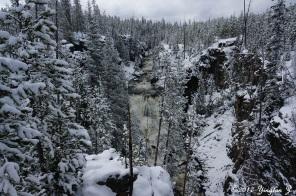 Kepler's Cascade, Yellowstone