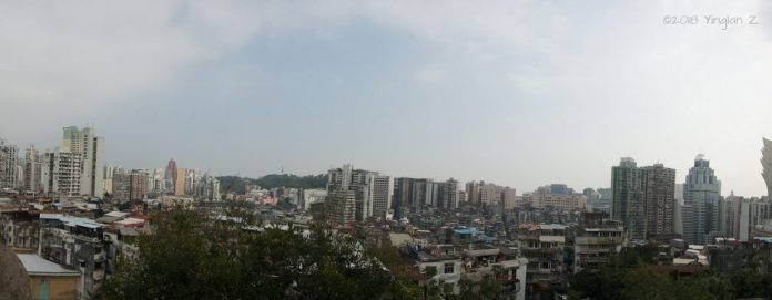 Macau Old City Panorama