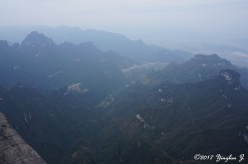T for Tianmen Mountain