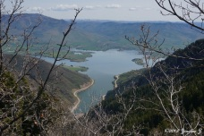 Pineview Reservoir from above
