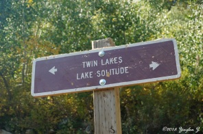 To Twin Lakes Reservoir