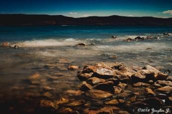 1 second exposure at Bear Lake
