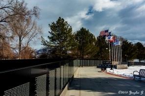 Layton City Vietnam Memorial Wall